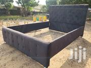 Design Frabic Bed Frame   Furniture for sale in Greater Accra, Tema Metropolitan