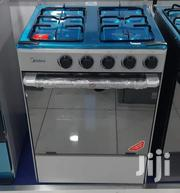 Brand New Midea 4 Burner Stainless Steel Gas Cooker Inbox | Kitchen Appliances for sale in Greater Accra, Kokomlemle