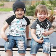 Kids Ripped Jeans Short And Top | Children's Clothing for sale in Greater Accra, Kotobabi