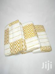 Gold And White Pattern Kente | Clothing for sale in Greater Accra, Ga East Municipal