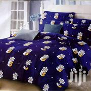 Available King Size Bed Sheet With Four Pillow Cases | Home Accessories for sale in Greater Accra, North Kaneshie