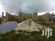 A Plot Of Land With Two Bedroom Self Contain And Uncomplete Stores | Land & Plots For Sale for sale in Greater Accra, Kanda Estate