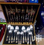 A Set Of Silver Cutlery Packed In A Suitcase 24 Pieces | Kitchen & Dining for sale in Greater Accra, Accra new Town