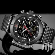 Top Brand Luxury NAVIFORCE 9153 LED Display Dual Time Watch | Watches for sale in Greater Accra, Akweteyman