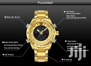 Unique Design Original Gold Dual Time Naviforce Watch   Watches for sale in Greater Accra, Akweteyman