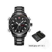 Men Sport LED Digital/Analog Stainless Steel Quartz Watch | Watches for sale in Greater Accra, Akweteyman