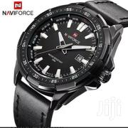 Naviforce 9056 Analog Quartz Dial Leather Band Watch | Watches for sale in Greater Accra, Akweteyman