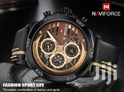 NAVIFORCE 9110 Leather Men Watch | Watches for sale in Greater Accra, Akweteyman