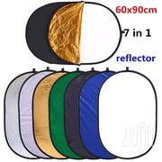 90 X 60cm - 7 In 1 Oval Collapsible Light Reflectors | Photo & Video Cameras for sale in Greater Accra, Accra Metropolitan