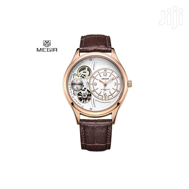 Archive: Mechanical Fashion Business Leather Men Watch