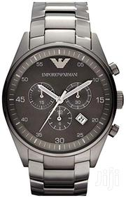 Emporio Armani Black Chain Watch | Jewelry for sale in Greater Accra, Abossey Okai
