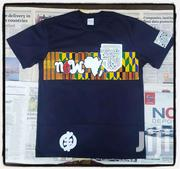 Blue Black New Africa  T Shirt | Clothing for sale in Greater Accra, Osu