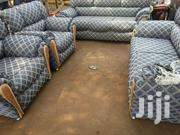 Utv Material Sofa (Free Delivery ) | Furniture for sale in Greater Accra, Nungua East