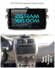 Toyota Corolla 2009/2013 Android Radio Dvd Touch Screen Player | Vehicle Parts & Accessories for sale in Greater Accra, Abossey Okai