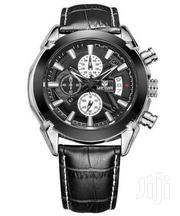 Luxury Megir Calendar Chronograph Business Analog Display Watch | Watches for sale in Greater Accra, Akweteyman