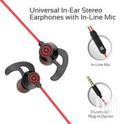 Swift Heavy Bass Wired Earphones With In-line Mic | Headphones for sale in Greater Accra, Burma Camp