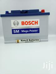 15 Plates Premium Bosch Car Battery_free Delivery | Vehicle Parts & Accessories for sale in Greater Accra, North Kaneshie