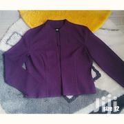 Ladies Beautiful Purple Blazer -size 12 | Clothing for sale in Greater Accra, Teshie new Town