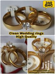 Clean Wedding Rings | Jewelry for sale in Greater Accra, Kwashieman