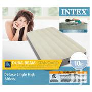 Intex 10in Twin Deluxe Single High Airbed- 1 Person | Furniture for sale in Greater Accra, Ga South Municipal