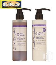 Black Vanilla Shampoo Set + Free Hair Smoothie by Carol's Daughter | Hair Beauty for sale in Western Region, Shama Ahanta East Metropolitan