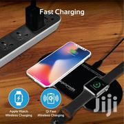 Promataurabase2 Dual Wireless Charging Station for iPhone and Iwatch | Accessories for Mobile Phones & Tablets for sale in Greater Accra, Accra Metropolitan