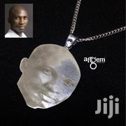 Engraved Portrait Necklace | Jewelry for sale in Greater Accra, Adenta Municipal