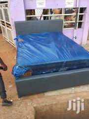 Authentic Double Bed With Foreign Mattress for Sell. | Furniture for sale in Greater Accra, South Shiashie