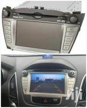 Hyundai Tucson 2011/014 HD Dvd Radio Touch Screen Player | Vehicle Parts & Accessories for sale in Greater Accra, Abossey Okai