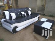 Emmanuel Leather Sofa | Furniture for sale in Greater Accra, Nima