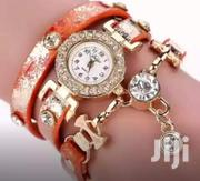 Luxury Crystal Pendant Montre Femme Bracelet Watch With Gift Box | Watches for sale in Greater Accra, Adenta Municipal