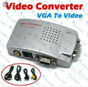 Vga To Av Video Converter | Computer Accessories  for sale in Greater Accra, Accra Metropolitan
