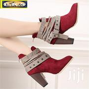 Autumn and Winter Ankle Strappy Martin Boots | Shoes for sale in Western Region, Shama Ahanta East Metropolitan