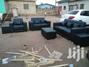 Anoited Leather Sofa | Furniture for sale in Greater Accra, Dansoman