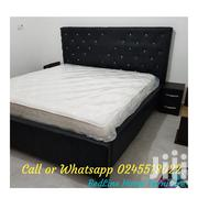 Fresh and Brand New Turkish Bed Frame With Mattress ❤️❤️❤️🖤 | Furniture for sale in Greater Accra, Agbogbloshie