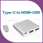 Type C to HDMI and USB | Computer Accessories  for sale in Greater Accra, Kokomlemle