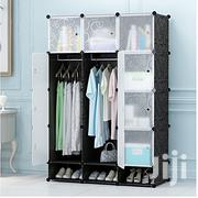 12 Cubes Plastic Wardrobe - Black | Furniture for sale in Greater Accra, Abelemkpe