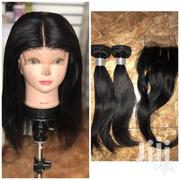 Mongolian Hair 12 Inches With A 12 Inches Closure. | Hair Beauty for sale in Greater Accra, Achimota