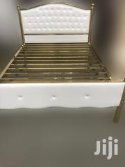 Golden White Bed Frame | Furniture for sale in Greater Accra, Accra Metropolitan