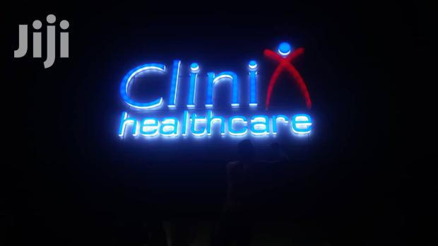 3D Lighted Signage Fabrications