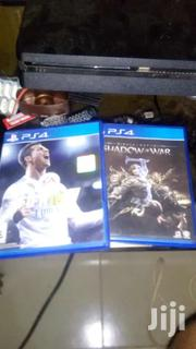 PS4 FIFA18 & Shadow Of War Cds | Video Game Consoles for sale in Ashanti, Bosomtwe