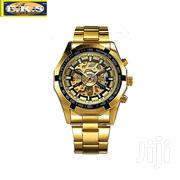 Gold Automatic Mechanical Vintage Watch by Forsining | Watches for sale in Western Region, Shama Ahanta East Metropolitan