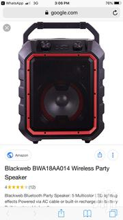 Black Web Portable Bluetooth Speaker From U.S | Audio & Music Equipment for sale in Greater Accra, North Kaneshie