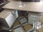 Executive Lshape Executive Desk Full Set With Side Drawer | Furniture for sale in Greater Accra, Accra Metropolitan