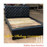 TURKISH Black Leather BED ❤️❤️❤️🖤 | Furniture for sale in Greater Accra, Avenor Area