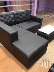 Affordable L Shape Sofa With Center Table for Sell. | Furniture for sale in Greater Accra, North Dzorwulu