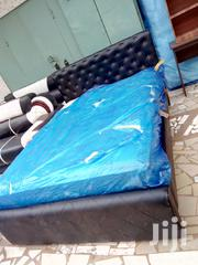 Quality Double Bed With Matress For Sell | Furniture for sale in Greater Accra, Abelemkpe
