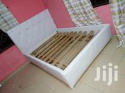 Pure White Double Bed for Sell With Free Delivery | Furniture for sale in Greater Accra, Kokomlemle