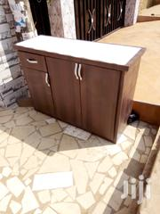 Cofe Brown Kitchen Cabinet For Sell. 4feet Length | Furniture for sale in Greater Accra, East Legon (Okponglo)