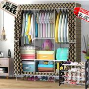 Triple Black/Gold Wardrobe | Furniture for sale in Greater Accra, Kotobabi
